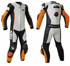 MEN'S KTM RIDER MOTORCYCLE / MOTORBIKE RACING LEATHER SUIT