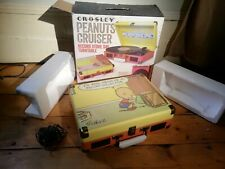 Crosley Cruiser Charlie Brown Portable Record Player Turntable Record Store Day