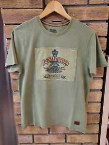Genuine Royal Enfield T-Shirt -Mens Heritage Tee - New With Tags