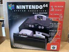Rare NIB Official Nintendo 64 N64 24 Game Organizer Storage Drawer Holder Case