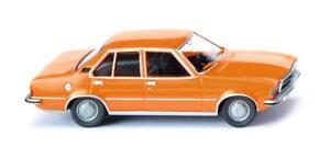 WIKING 79304 Opel Rekord D - Orange, Ho, New 2020