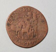 1585 Spanish Netherlands World Coin Token Jeton