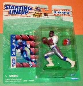 1997 CURTIS MARTIN sole New England Patriots NM * 00 s/h* Rookie Starting Lineup