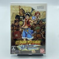 One Piece: Unlimited Adventure Nintendo Wii Complete With Manual Japan Imported
