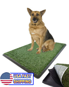 Large Pet Grass Potty Patch Portable Dog Training Bathroom Pad Indoor Outoor