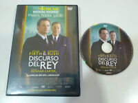 El Discurso del Rey Colin Firth Geoffrey Rush - DVD Español English Region 2