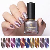 BORN PRETTY 3D Magnetic Nail Polish Pearlescent Shiny Glitter Nail Art Varnish