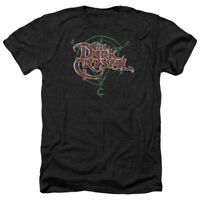 The Dark Crystal Movie SYMBOL LOGO Licensed Adult Heather T-Shirt All Sizes