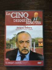 LES CINQ DERNIERES MINUTES .. DVD N°13 ... Jacques Debary