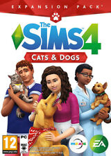 The Sims 4 Cats and Dogs Expansion DLC PC Mac Game Key - EA Origin download code