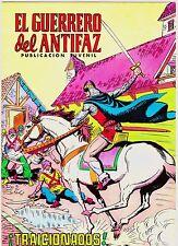 EL GUERRERO DEL ANTIFAZ (Reedición color) nº: 216.  Valenciana, 1972-1978.