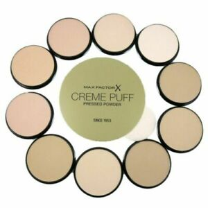 MAX FACTOR Creme Puff Compact Pressed Face Powder 21g *CHOOSE YOUR SHADE*