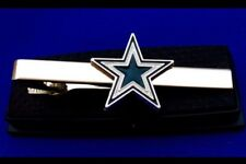 Cowboys Tie Clip Dallas Cowboys NFL Cowboy Logo Tie Clasp Gift Tie Bar (New)