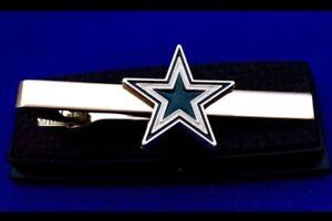 Cowboys Tie Clip Dallas Cowboys NFL Cowboy Logo Tie Clasp Gift Tie Bar (New)