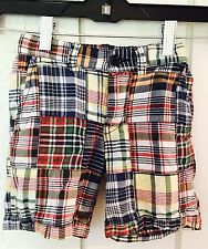 Polo Ralph Lauren Boys Size 4T Vintage Style Madras Plaid Shorts