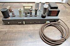 Vintage Hammond AO-43 Original Organ Guitar Tube Amplifier, project amp (D)