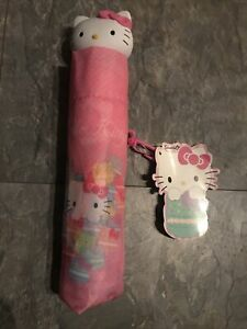 Sanrio Hello Kitty Girls Pink Umbrella BNWT