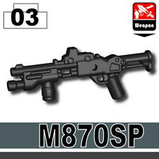 870SP (W289) Tactical Shotgun compatible with toy brick minifigures