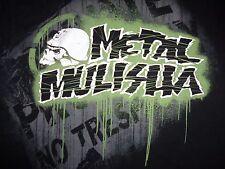 Metal Mulisha FMX Super Cross MMA Motorcross Brand Black Graphic Print T-Shirt S