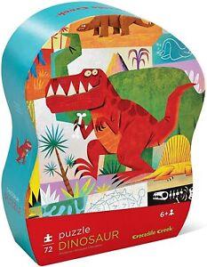 "Crocodile Creek Dinosaur 72Pc Junior Puzzle, 14"" x 19"""
