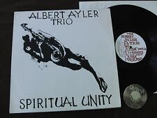 LP Albert Ayler Trio Spiritual Unity ESP 1002  Bellsound | NM to EX