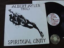 LP Albert Ayler Trio Spiritual Unity ESP 1002  Bellsound   NM to EX