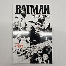 Batman: White Knight #1 Sketch Variant! Signed by Sean Gordon Murphy