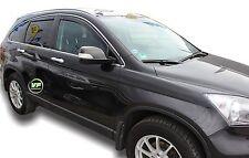 Dho17142 HONDA C-RV CRV MK3 5 PORTE 2007 - 2012 VENTO DEFLETTORI 4pc HEKO COLORATO