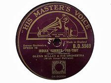 GLENN MILLER - Indian Summer / Careless 78 rpm disc (A+)