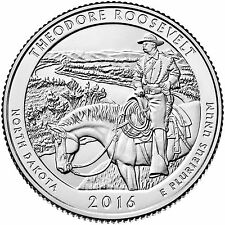 2016 D - Theodore Roosevelt National Park - North Dakota - America The Beautiful