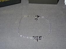 New Welsh Clogau Silver & Rose Gold Damselfly Bracelet RRP £99