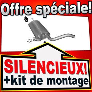 Silencieux Arriere RENAULT LAGUNA III 1.5 / 2.0 dCi dés 2007 échappement ATH
