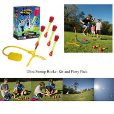Stomp Rocket Kids Outdoor Award Winning Ultra 4 Rockets Launching Activity Kit