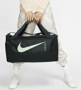 Nike Brasilia Training Duffel Bag Gym Sports Holdall Football Kit Travel New 41L