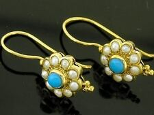 Turquoise Yellow Gold Vintage & Antique Jewellery