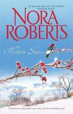 Western Skies by Nora Roberts PB Song of the West & Boundary Lines
