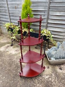 Vintage What Not Plant Stand 4 Tier