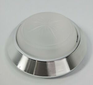 Round Dome Light Base & Lens for Most 1971-1981 Chevy Cars