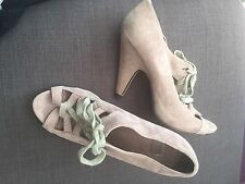 ASOS Suede Lace-up Heels for Women