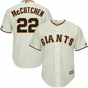 Andrew McCutchen #22 Jersey San Francisco Giants MLB Youth Jersey Ivory