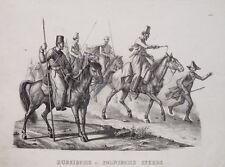 Rußland Russia Kosaken Russische Pferde Peitsche Lanze Reiter Polen Poland horse