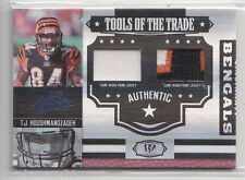2007 Absolute T.J. HOUSHMANDZADEH Tools Trade Dual Jersey Patch /25