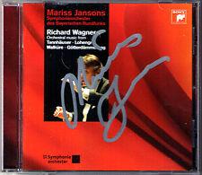 Mariss JANSONS Signed WAGNER Tannhäuser Lohengrin Die Walküre Götterdämmerung CD