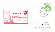 FB SAGITTA GERMANY SURVEY SHIP CACHED COVER
