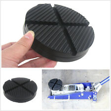 Cross Slotted Frame Rail Floor Jack Disk Rubber Pad for Pinch Weld Side JackPad (Fits: Dodge Intrepid)