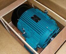BROOK CROMPTON 10 HP 3600 RPM TEFC 208/416 VOLTS 215T 3 PHASE MOTOR NEW SURPLUS