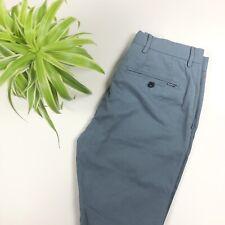 BNWT Hackett - Kensington Slim Classic Chino Trousers - Light Blue - W28 L32