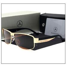 Mercedes² AMG Benz Polarized Sunglasses With Box Men Women Driving Sunglass