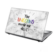 "15.6"" TaylorHe Laptop Vinyl Skin Sticker Decal Protection Cover Unicorn 2246"