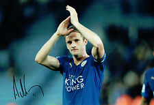 Andrew Andy KING Leicester City Signed Autograph Photo AFTAL COA Premier League